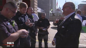 Cardiac arrest victim thanks DC first responders who saved his life at Union Station