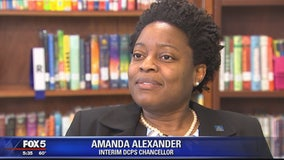 Dr. Amanda Alexander goes 1-on-1 with FOX 5 as she takes over as head of DC Public Schools