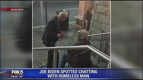 An act of kindness by former VP Joe Biden caught on camera