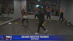 Obamas' personal trainer hold Master Class in DC