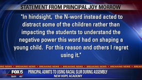 Maryland principal apologizes for saying n-word
