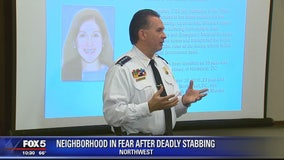 DC police chief addresses residents at safety meeting following deadly Logan Circle stabbing