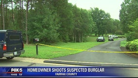 Homeowner confronts, shoots man on property in Fairfax County, police say