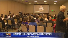 UMD to release details in football player's death