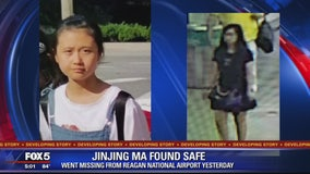 12-year-old girl whose disappearance at Reagan National Airport sparked Amber Alert found safe in NY