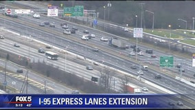 Interstate 95 express lanes extension coming to Virginia