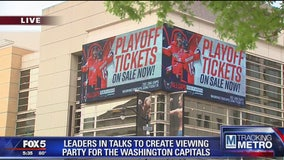 DC council member proposes idea of holding Capitals viewing party outside Capital One Arena