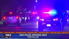 2 Prince George's County officers stable after being shot in line of duty, police say