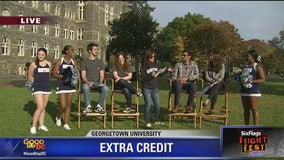 Six Flags America Extra Credit at Georgetown University | FOX 5 College Tour
