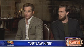 'Outlaw King': Chris Pine and Aaron-Taylor Johnson chat with Kevin McCarthy about new Netflix film