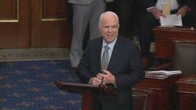 Sen. John McCain returns, cast vote as Senate moves ahead to debate repeal of Obamacare