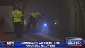 Unscheduled track work to impact service on Green, Yellow lines Friday morning