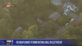 FBI: Man planned to bomb National Mall on Election Day