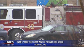 Prince George's Co. high school student's cell phone catches fire, school temporarily evacuated