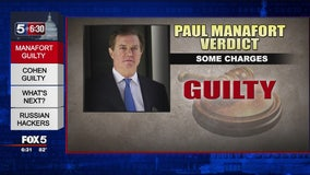 Paul Manafort found guilty of 8 charges