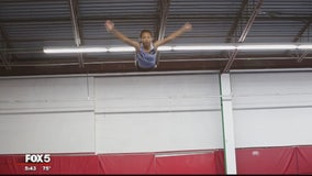 Sky is the limit for Maryland teen aspiring to become trampoline gold medalist