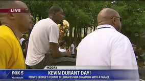 Prince George's County celebrates Kevin Durant Day