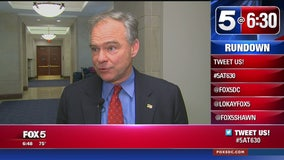 Sen. Tim Kaine says Comey was fired because of FBI's Trump-Russia investigation