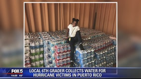 For her 12th birthday, Maryland girl collects 500 cases of water for Puerto Rico victims