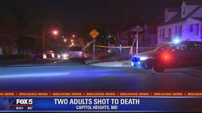 Two people found shot in Capitol Heights