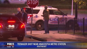 Teen shot near Anacostia Metro