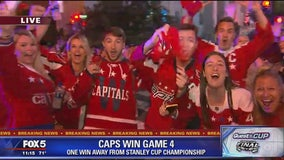 Caps are one win away from winning Stanley Cup after Game 4 victory