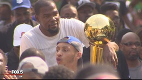 Seat Pleasant honors hometown MVP Kevin Durant with parade
