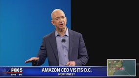 Amazon's Jeff Bezos attending Economic Club of Washington DC's celebration dinner