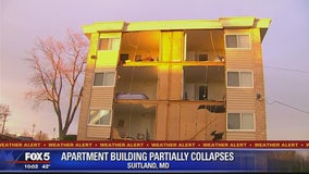 Hundreds of residents displaced following partial apartment building collapse in Prince George's County