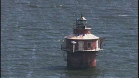 Historic Maryland lighthouse on Chesapeake Bay for sale