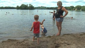 Woman, 33 weeks pregnant, saves drowning boy