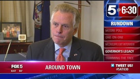 FOX 5 goes 1-on-1 with Va. Gov. McAuliffe as he enters stretch run of term