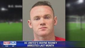 DC United soccer player Wayne Rooney arrested at Dulles