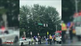 2 Northwest High School students struck by vehicle
