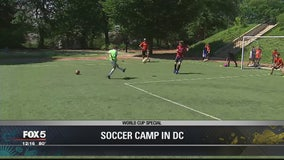 Young FIFA World Cup fans get their heads in the game at FourSoccer Summer Camp