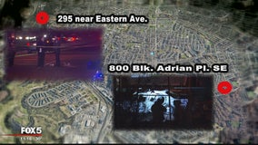 Are 2 unsolved DC area murders that occurred on same night connected?