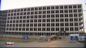 Officials trying to determine cause of sinking Silver Line parking garage under construction