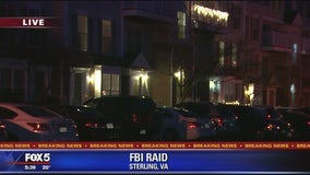 FBI conducting raid in Sterling