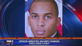 Prince George's County police officer arrested, accused of raping woman during traffic stop
