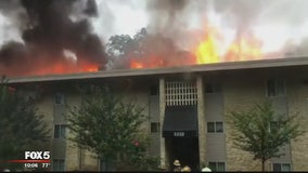 More than 130 residents displaced after Lanham apartment complex fire