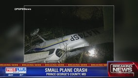 Small plane crashes in Prince George's County