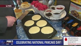 IHOP, LLS raise funds on National Pancake Day