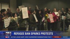 Refugee Ban Sparks Protest