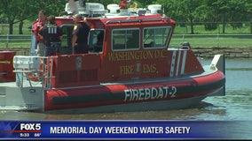 New DC Fire and EMS fireboat ready to help improve water safety as Memorial Day weekend arrives