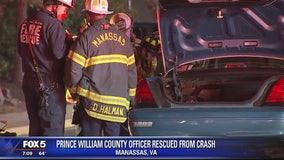 Police officer involved in crash in Virginia