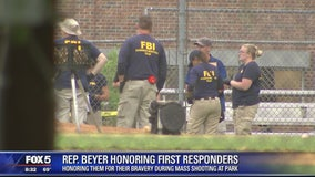 Virginia Rep. Don Boyer honors Alexandria shooting first responders
