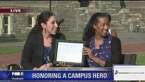 U.S. Marines Campus Hero at Georgetown University | FOX 5 College Tour