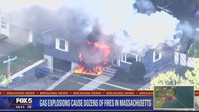 Gas explosions destroy homes in Massachusetts