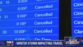 Nor'easter impacting travel in Northeast