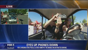 Eyes Up, Phones Down driving challenge